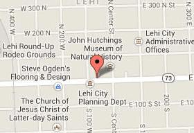 Map for Lehi Vision Care